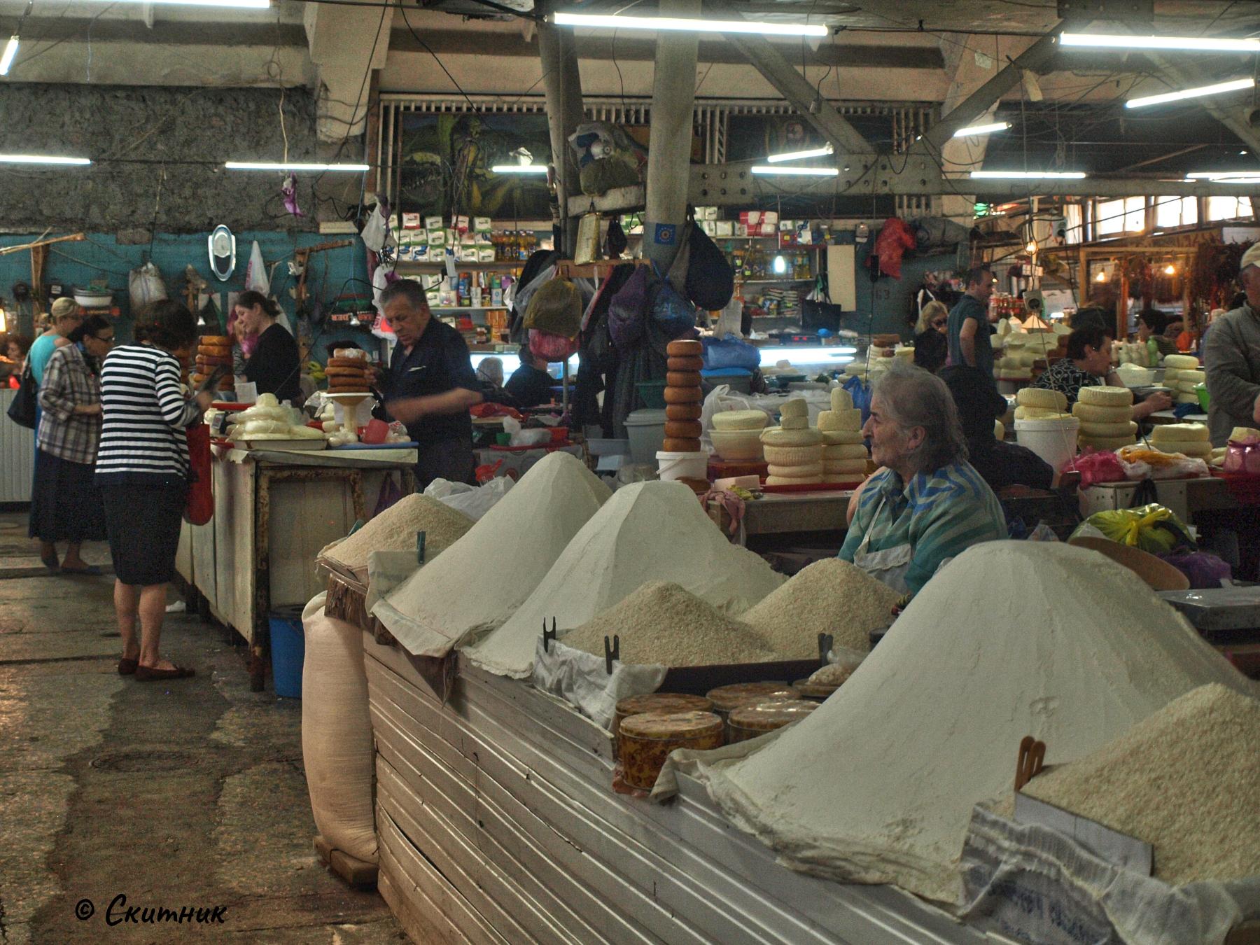 Пазарът на Кутаиси