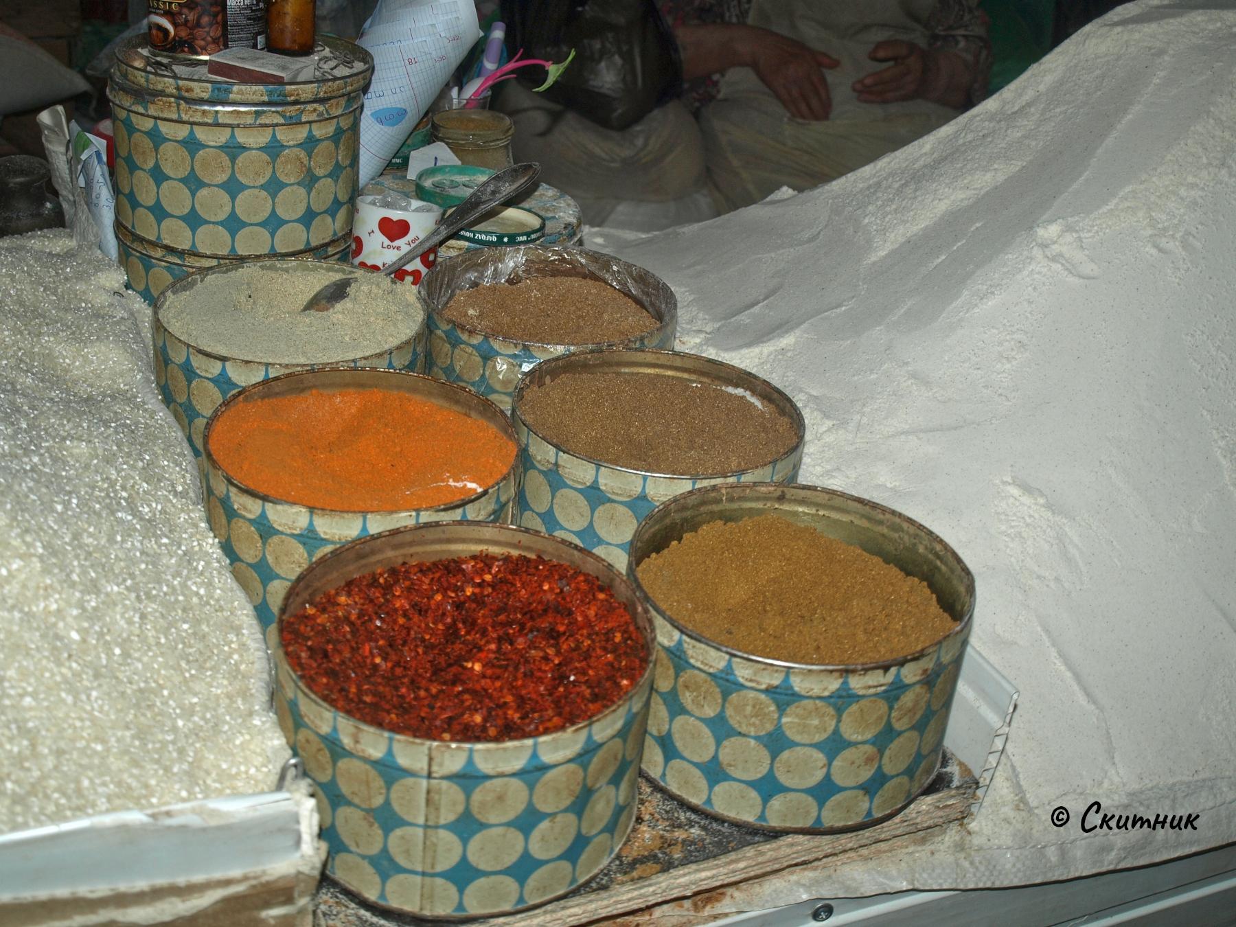 Подправки на пазара в Кутаиси