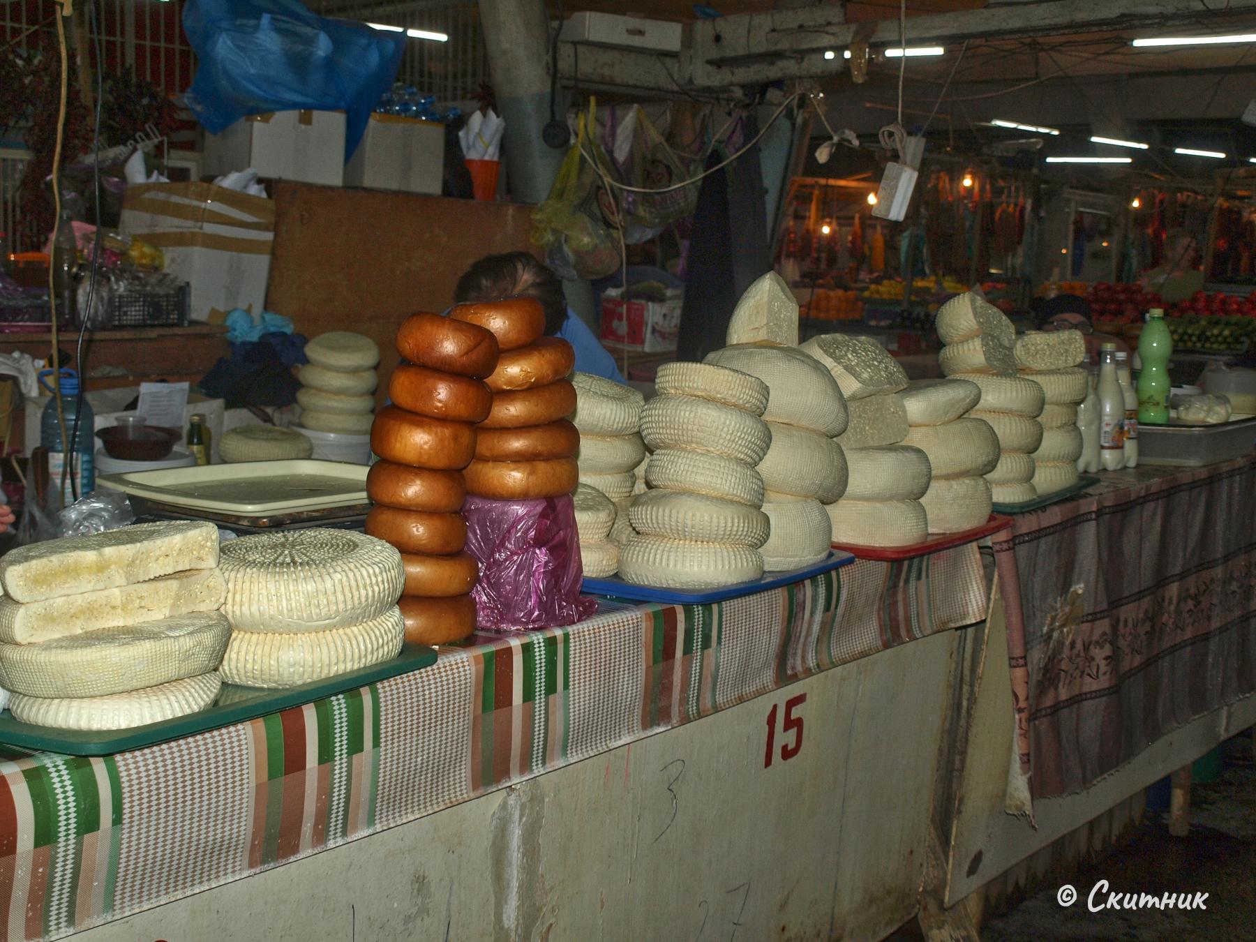 Сирена на пазара в Кутаиси