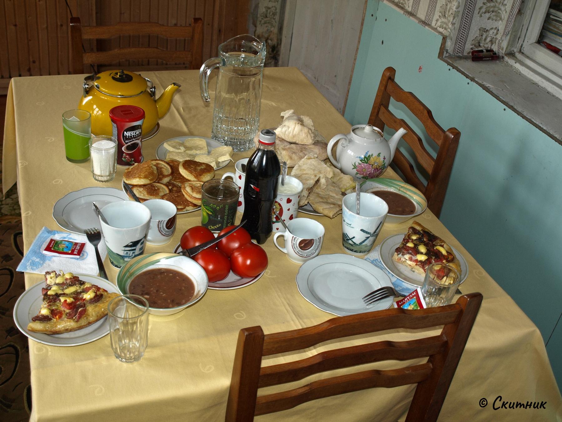 вечеря в Ушгули