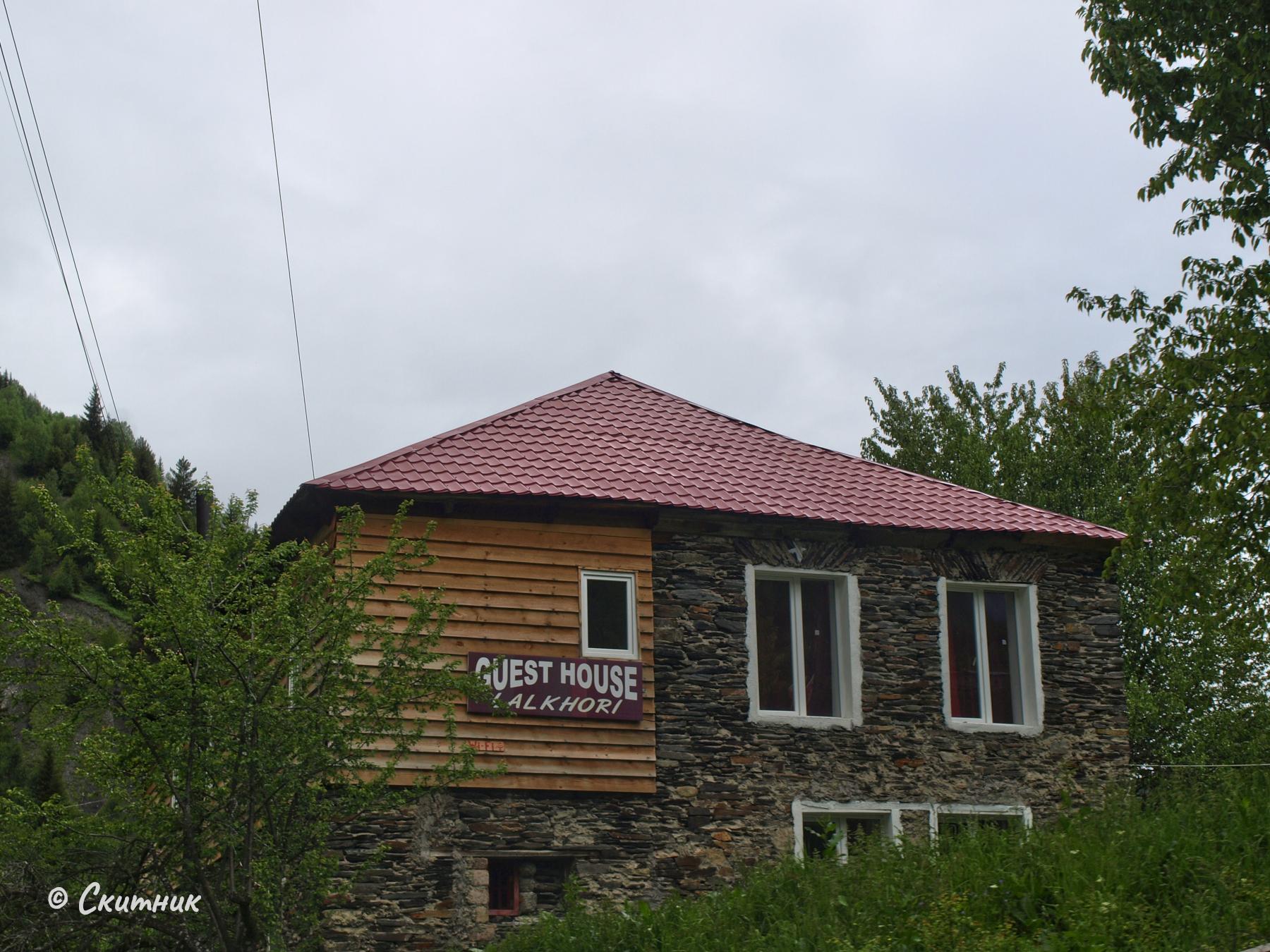 Стара къща в Сванети